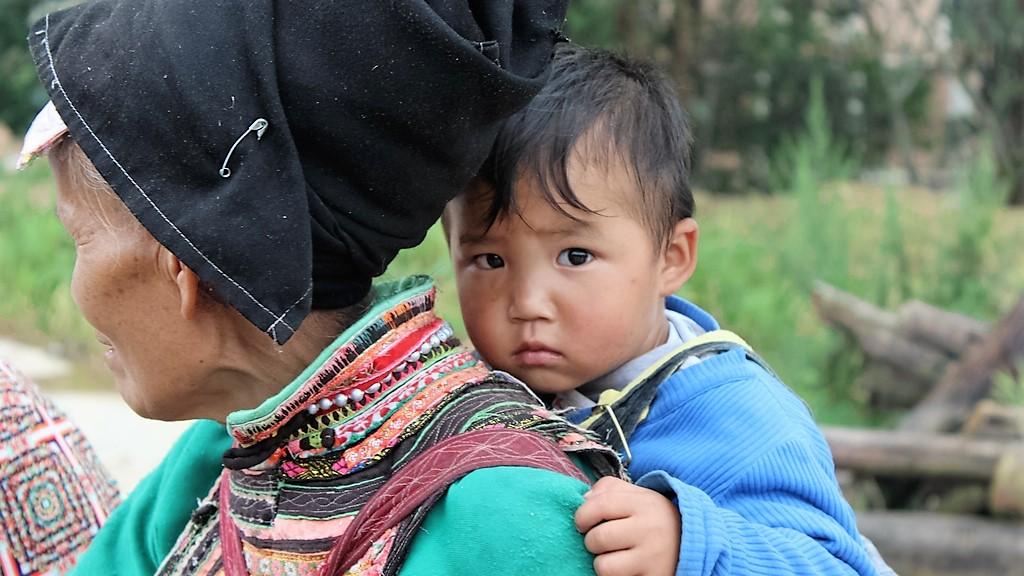 Yi minority China