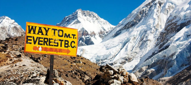 Voorbereiding Everest Base Camp trekking