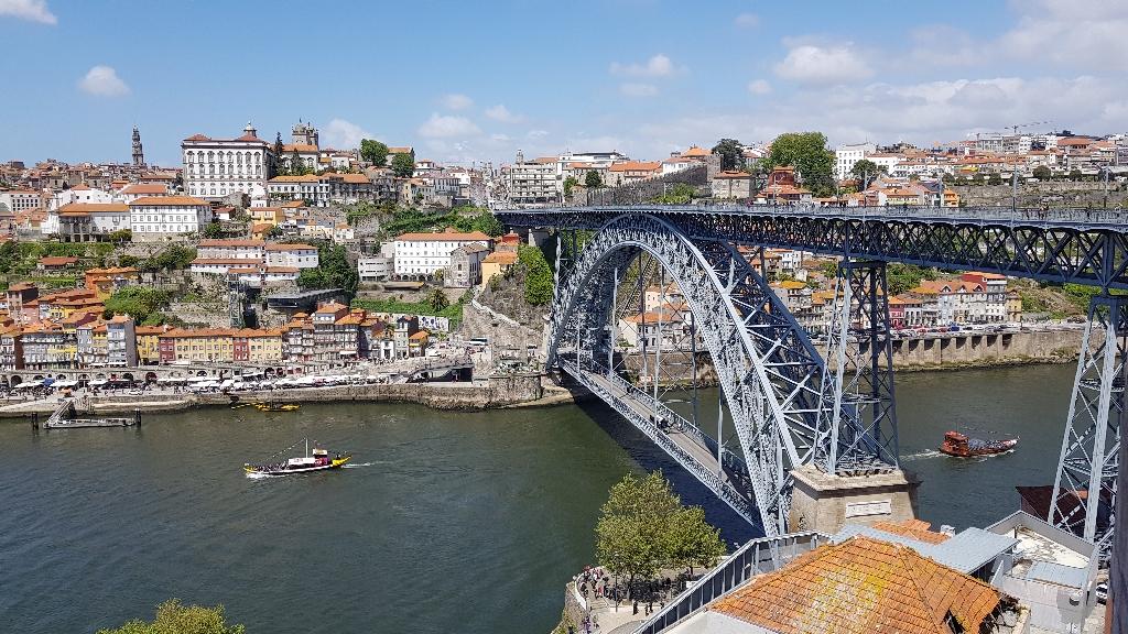 Treinreis-door-Portugal-Porto-Ponte-Luiz-1-brug
