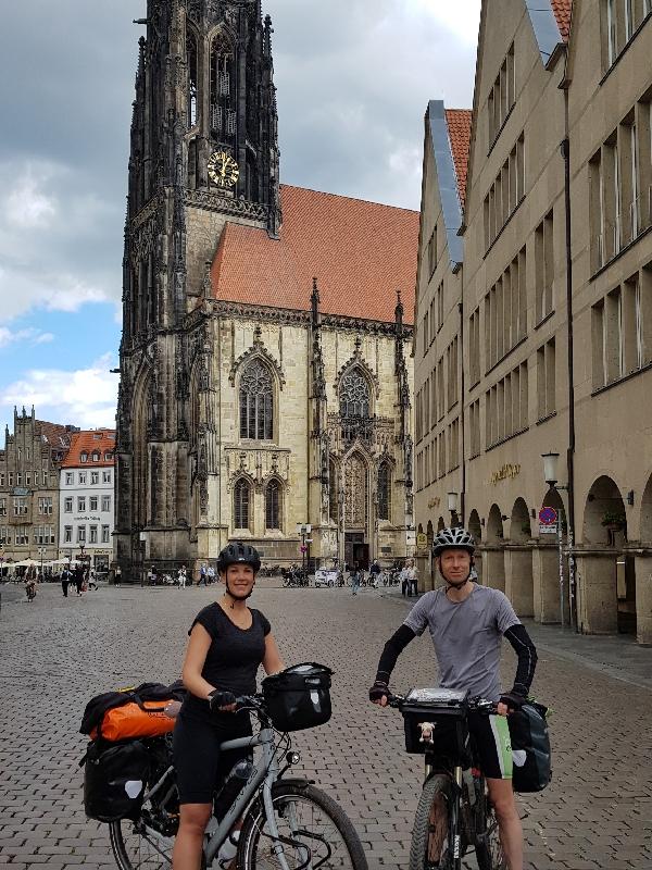 Dag 4 fietsen naar Berlijn, St. Lamberti Münster