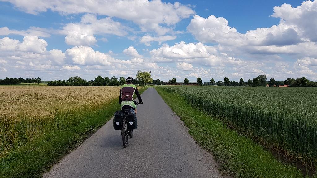 Dag 4 fietsen naar Berlijn, rustige wegen