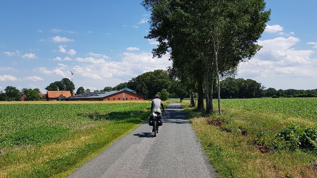 Dag 5 fietsen naar Berlijn, mooie weggetjes