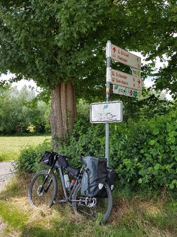 Dag 6 fietsen naar Berlijn, pauze onderweg