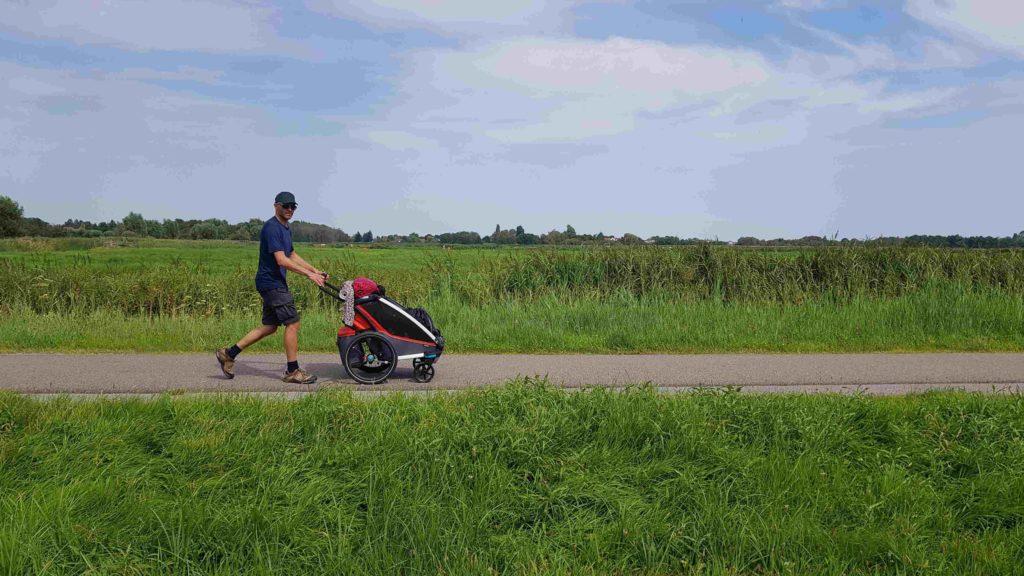 Trekvogelpad etappe 4. Wormerveer naar Landsmeer JP en Lotje