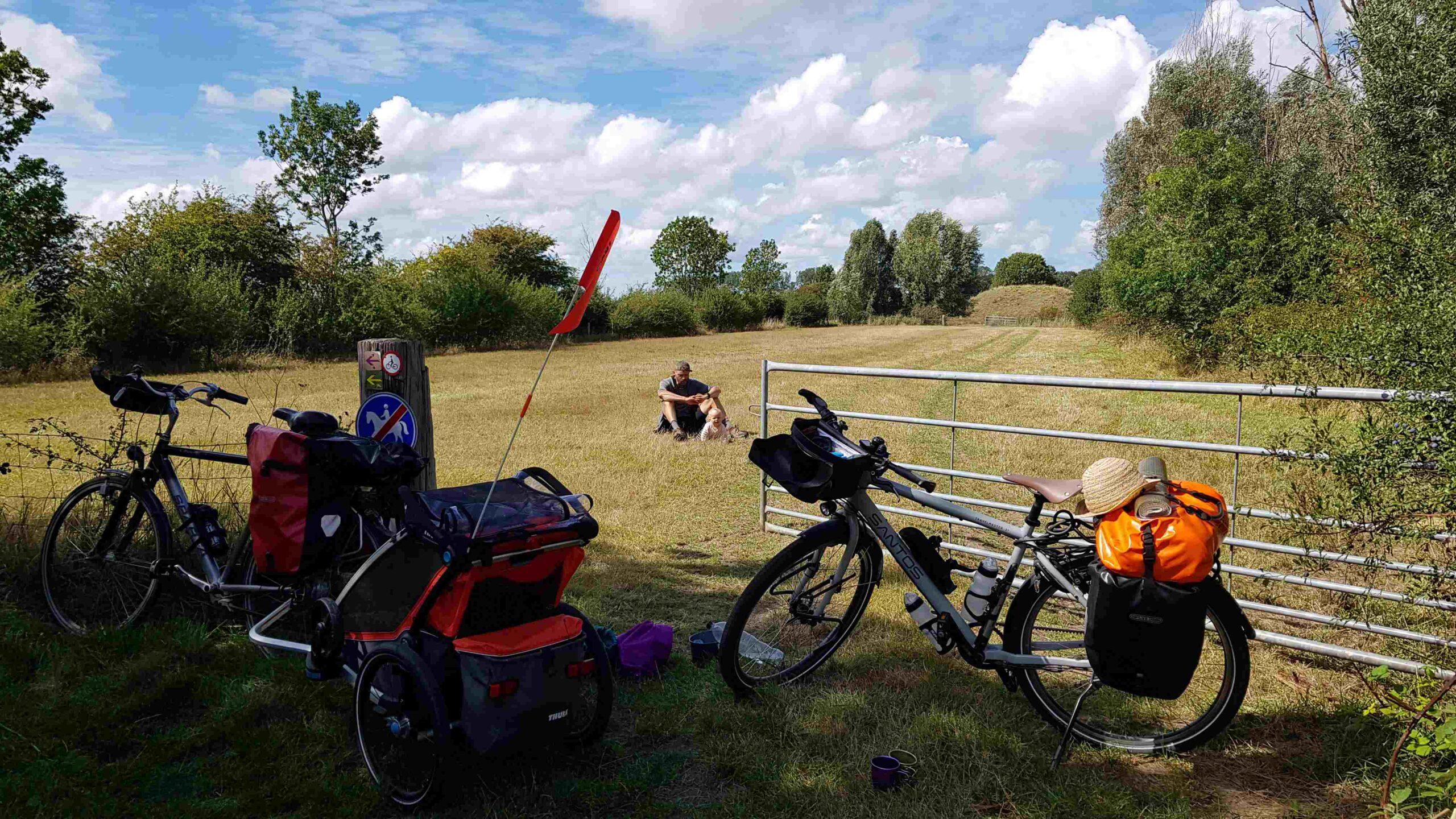 Rondje-Nederland-met-baby-lunch-picknick-onderweg