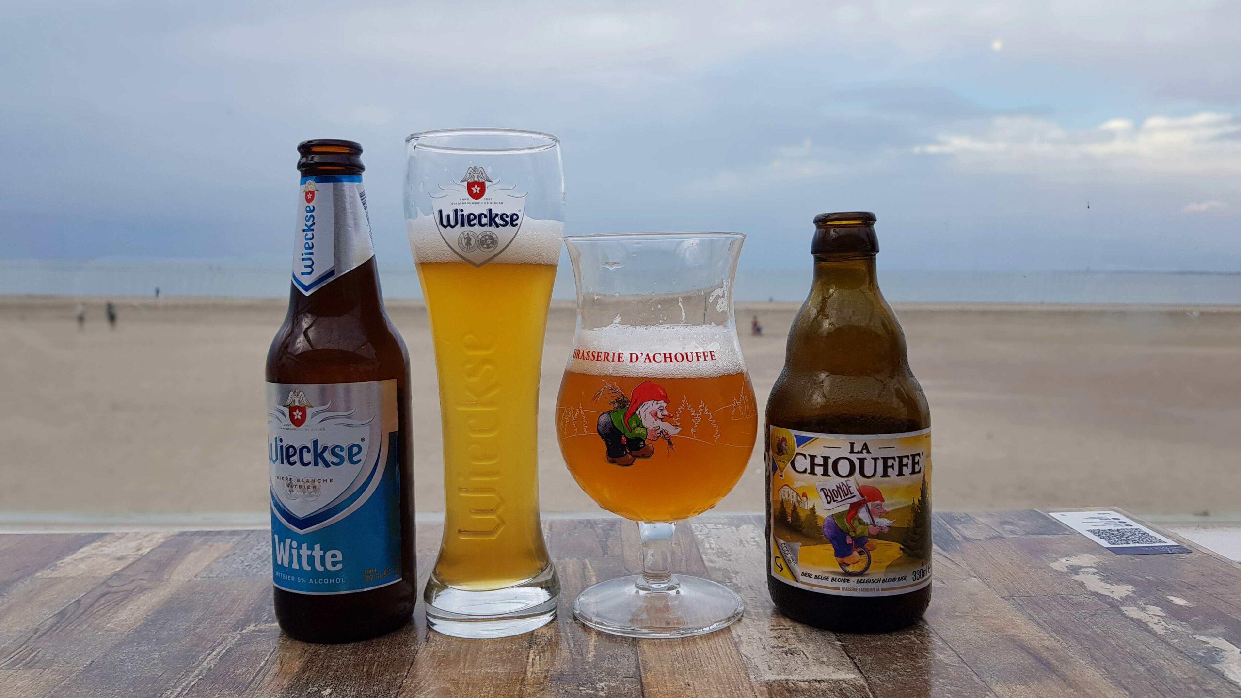 Rondje-Nederland-met-baby-op-de-fiets-biertje-Renesse-De-Branding-beachclub