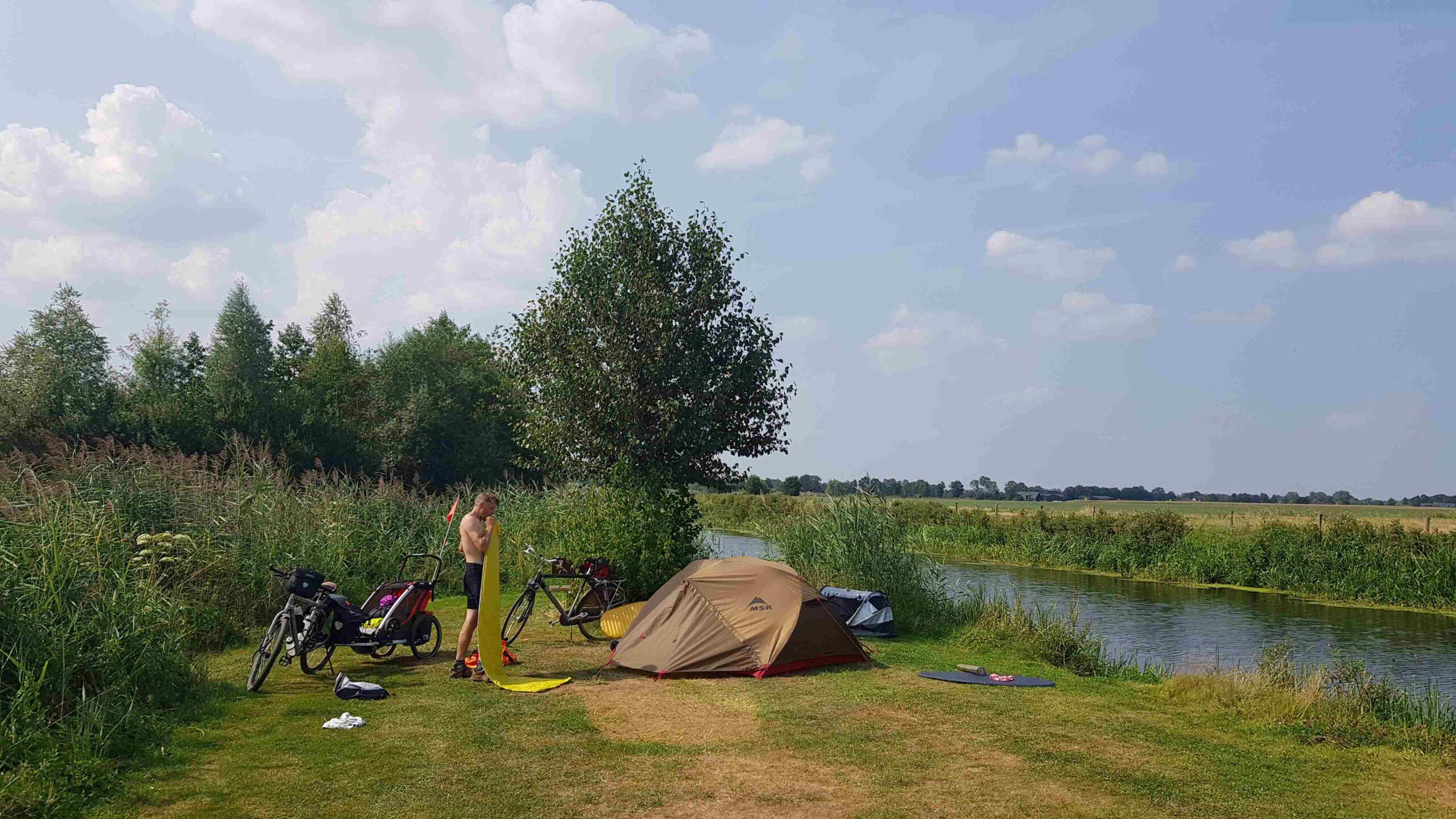 Rondje-Nederland-op-de-fiets-kamperen-Den-Ham