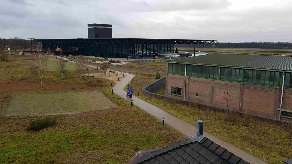 Trekvogelpad etappe 10, Nationaal Militair Museum, NMM Soesterberg