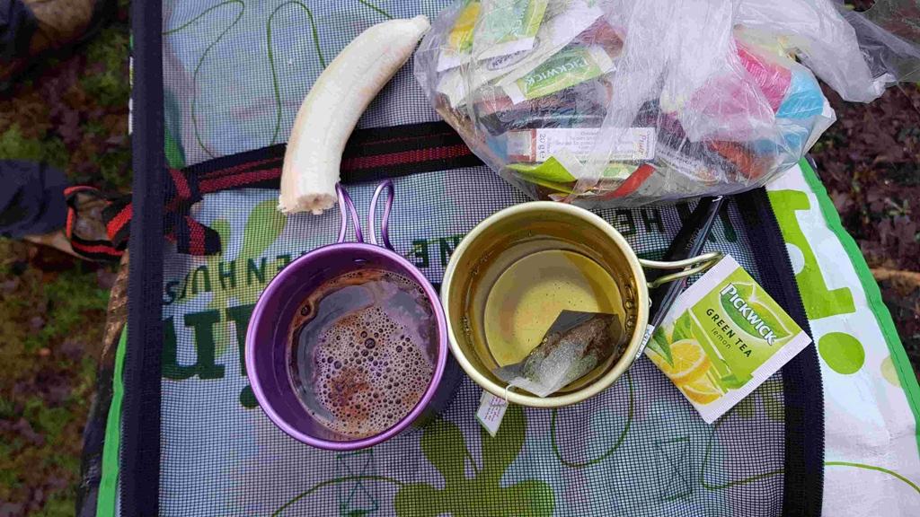 Trekvogelpad etappe 10, eten en drinken onderweg
