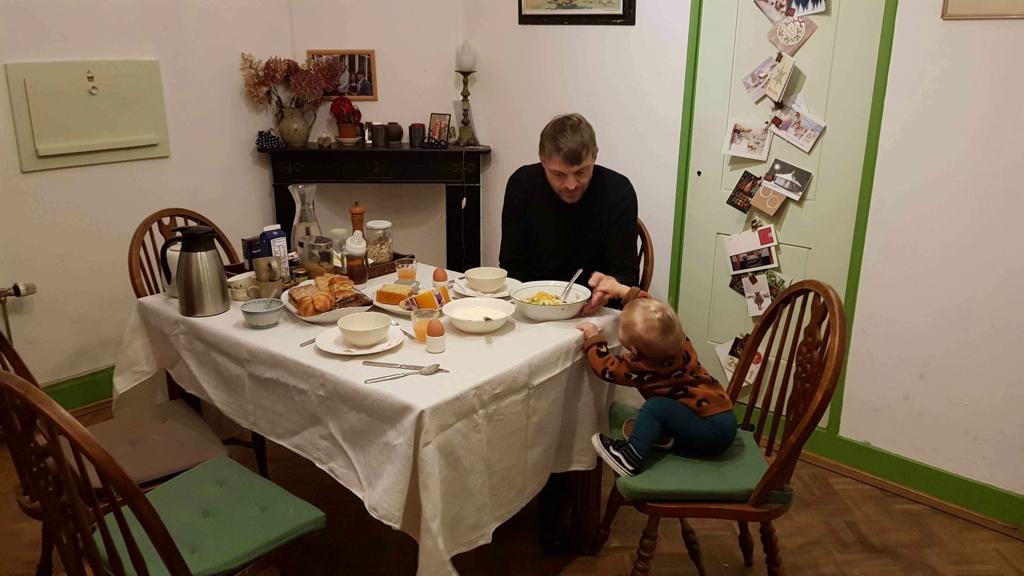 Trekvogelpad etappe 10 uitgebreid ontbijt in Baarn