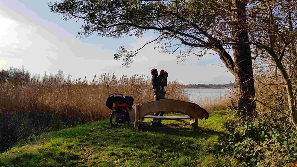 Trekvogelpad etappe 8 Weesp Hilversum Naardermeer