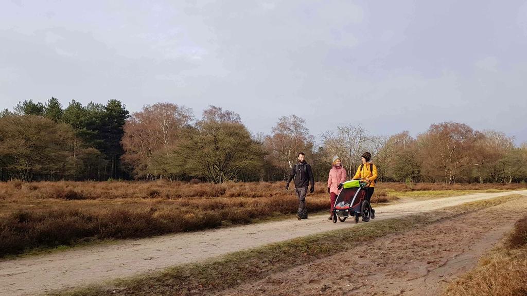 Trekvogelpad etappe 9 Hilversum Mediapark naar Baarn