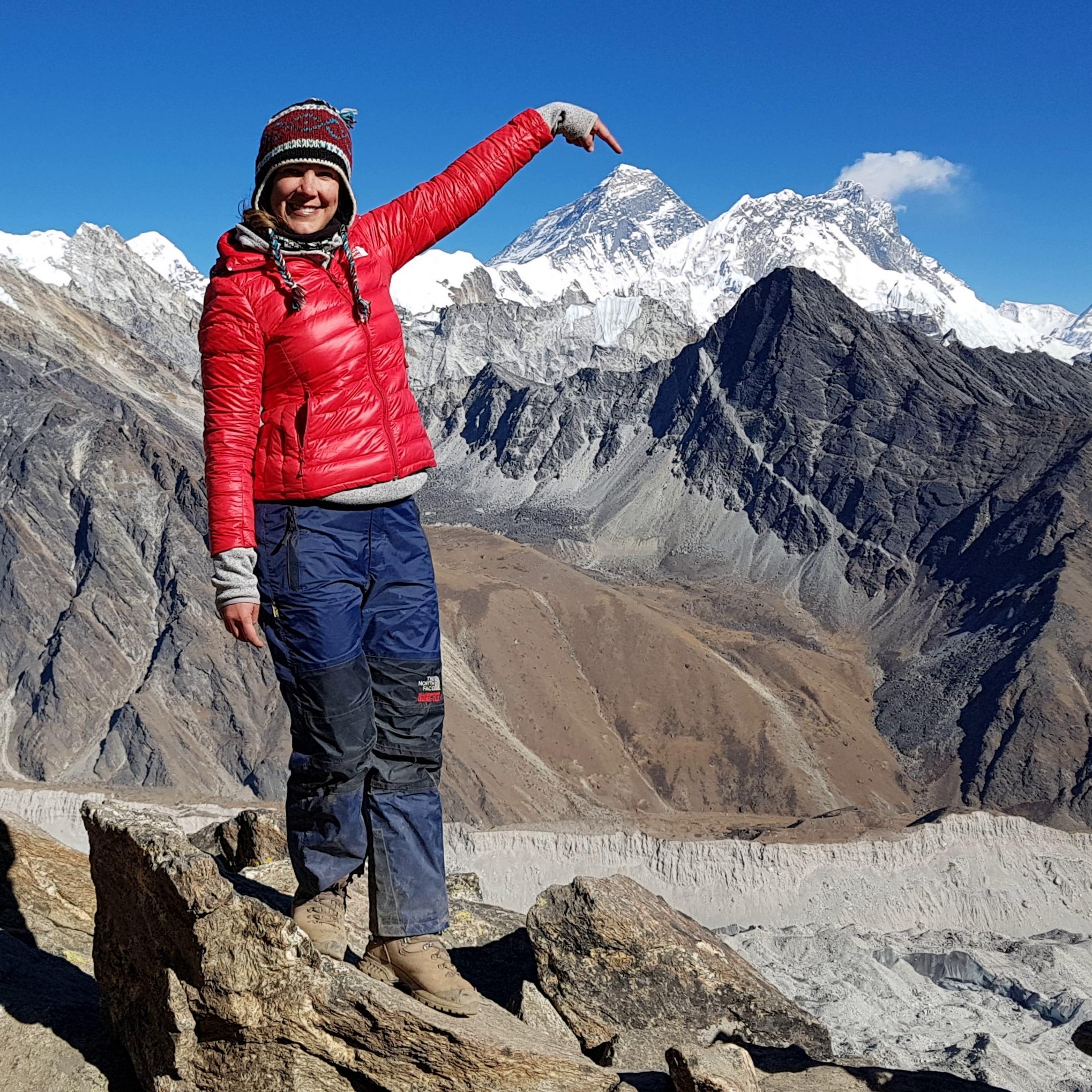 Paula Gokyo Ri Everest bergtrekking