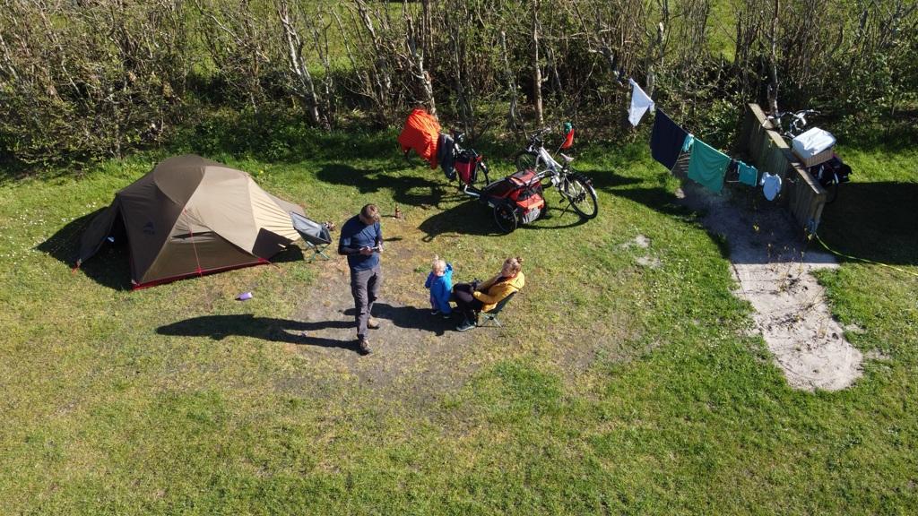 Tent Camping Anemoone Texel