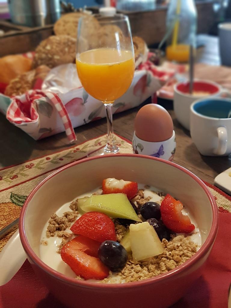 Rondje Nederland B&B 1874 ontbijt