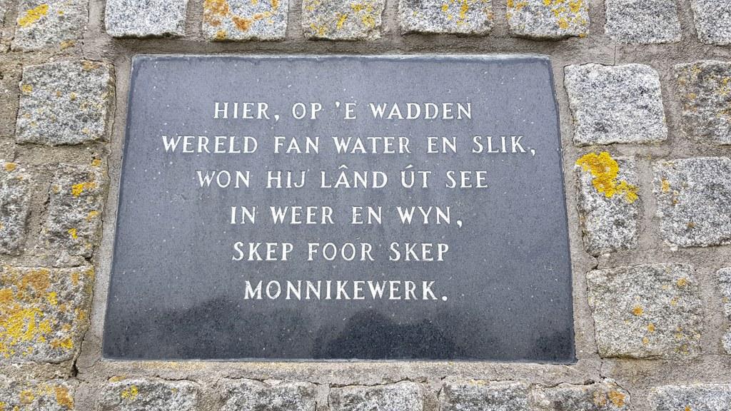 Rondje Nederland Friesland spreuk de Slikwerker