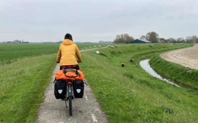 Rondje Nederland op de fiets: Oost-Vlieland tot Den Ham