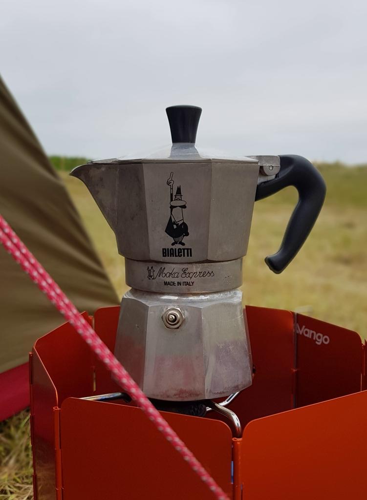 Rondje Nederland koffie op Vlieland