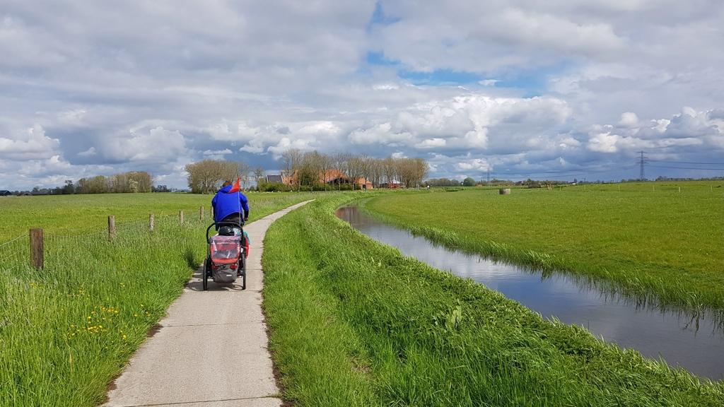 Rondje Nederland mooi fietsen Groningen