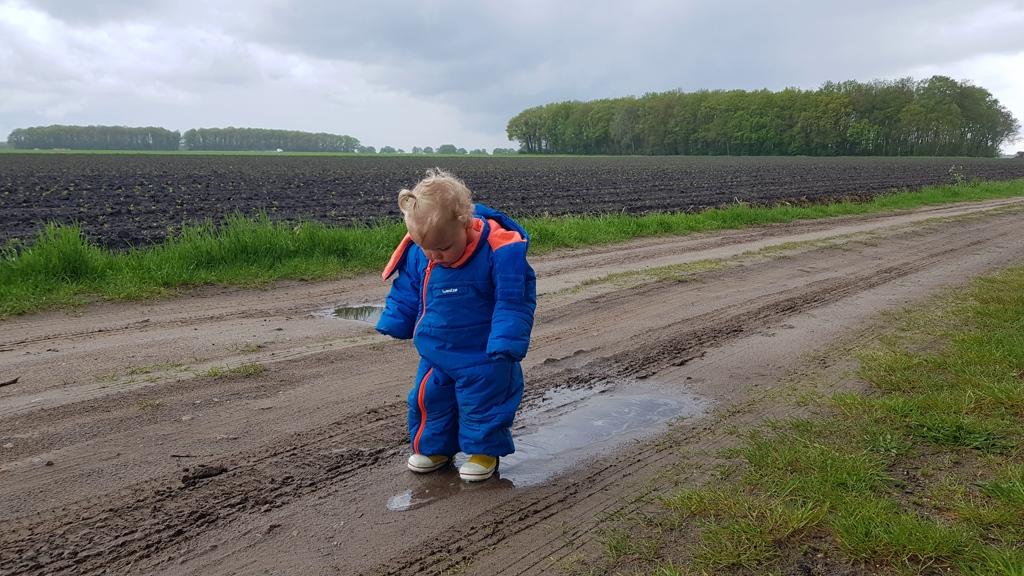 Rondje Nederland regenplassen