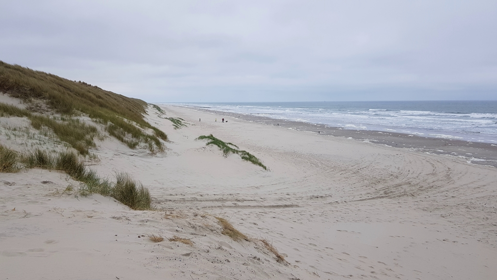 Rondje Nederland strand Vlieland