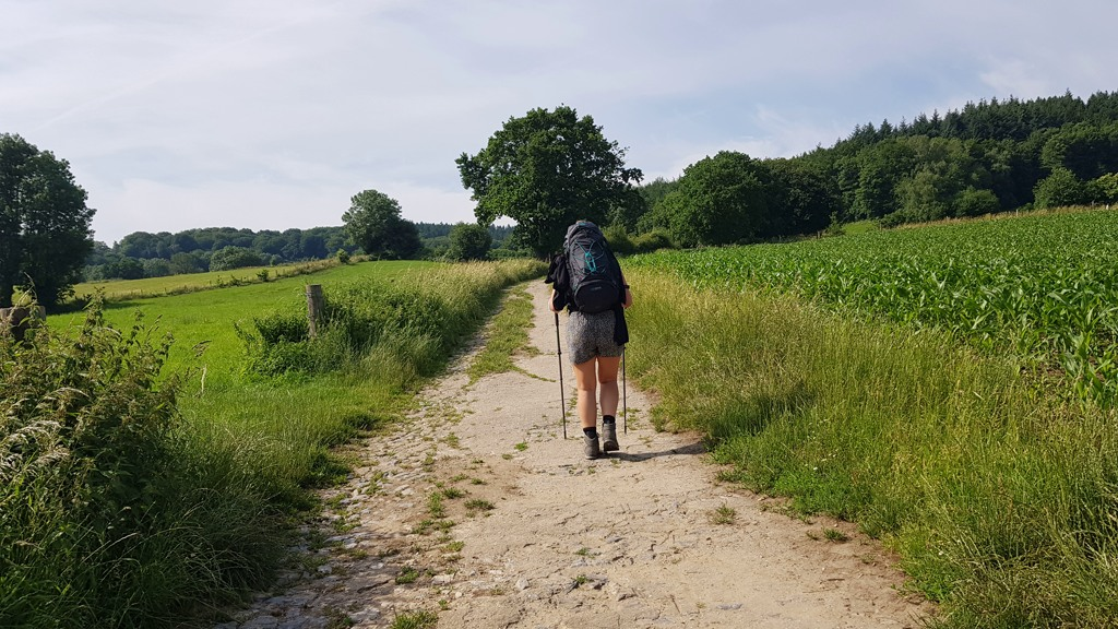 Dutch Mountain Trail de eerste kilometers