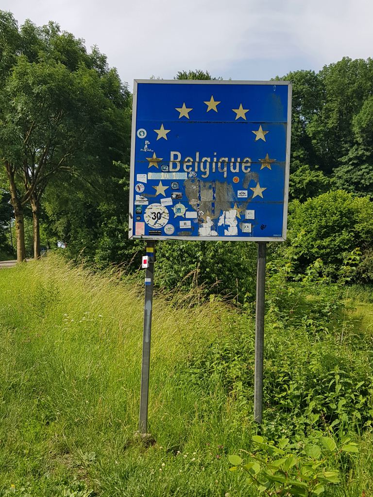 Dutch Mountain Trail etappe 2 grens België