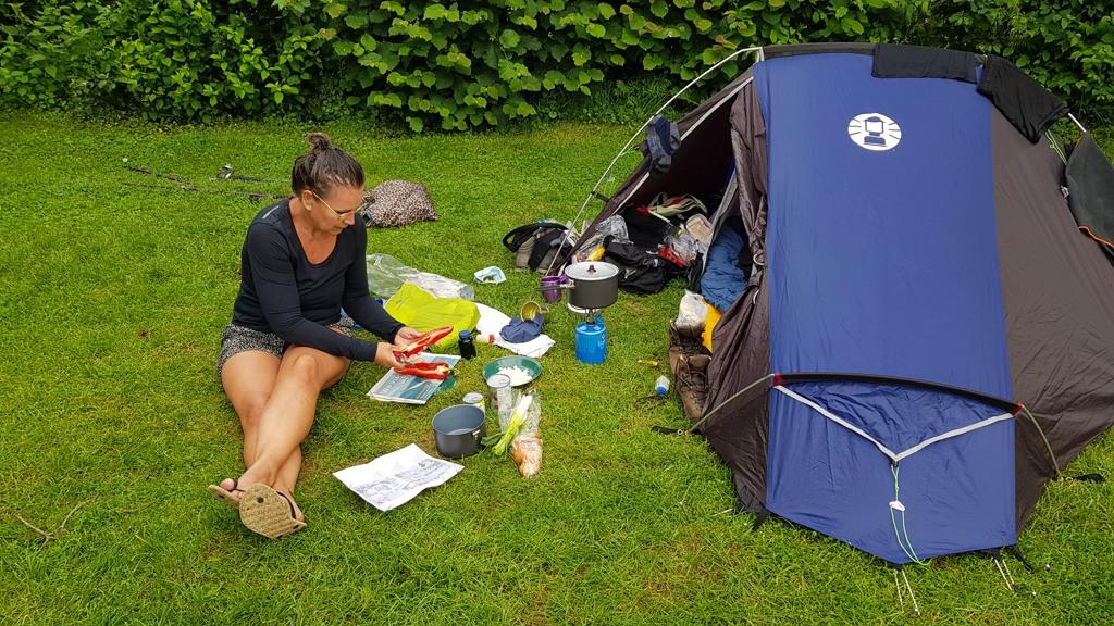 Dutch Mountain trail etappe 1 camping Hoeve de gastmolen