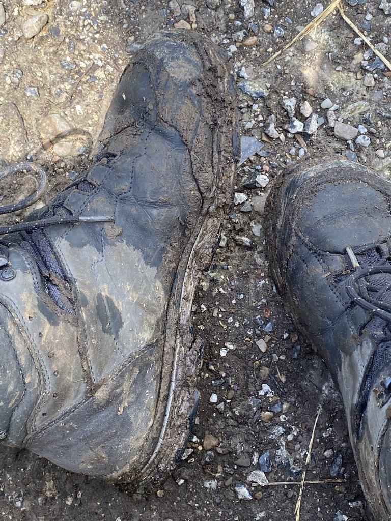 DMT dag 4 vieze schoenen