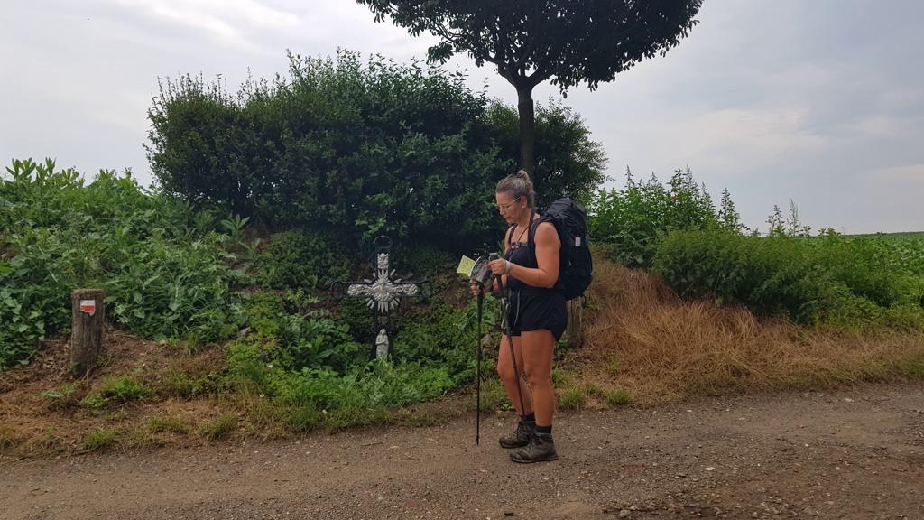 Dutch Mountain Trail etappe 4 de weg zoeken