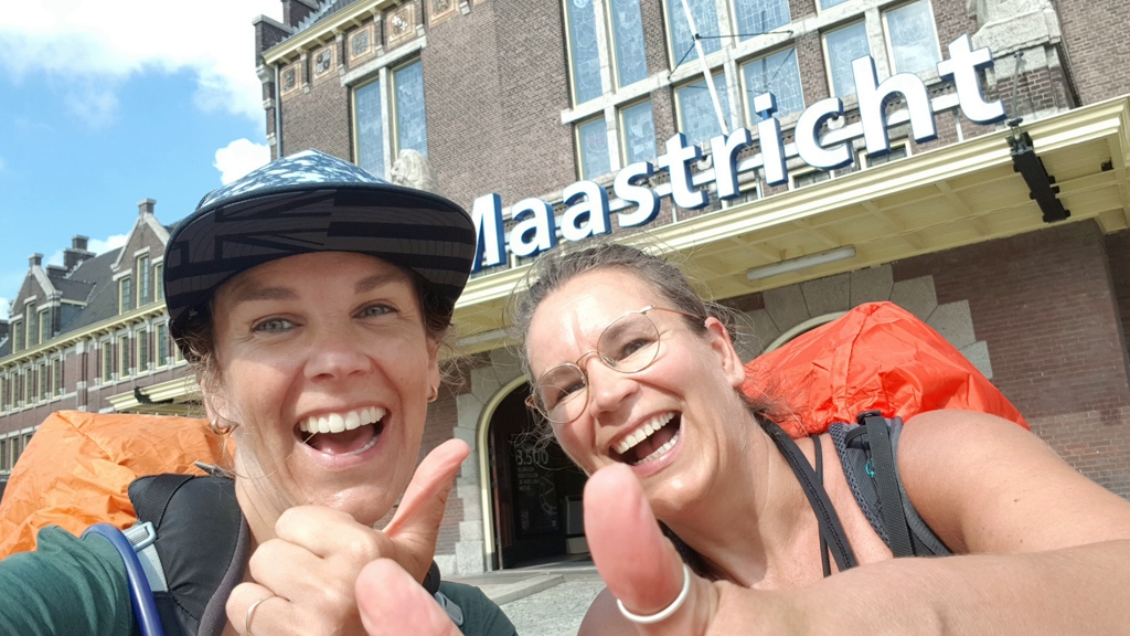 Dutch Mountain Trail etappe 4 finish station Maastricht
