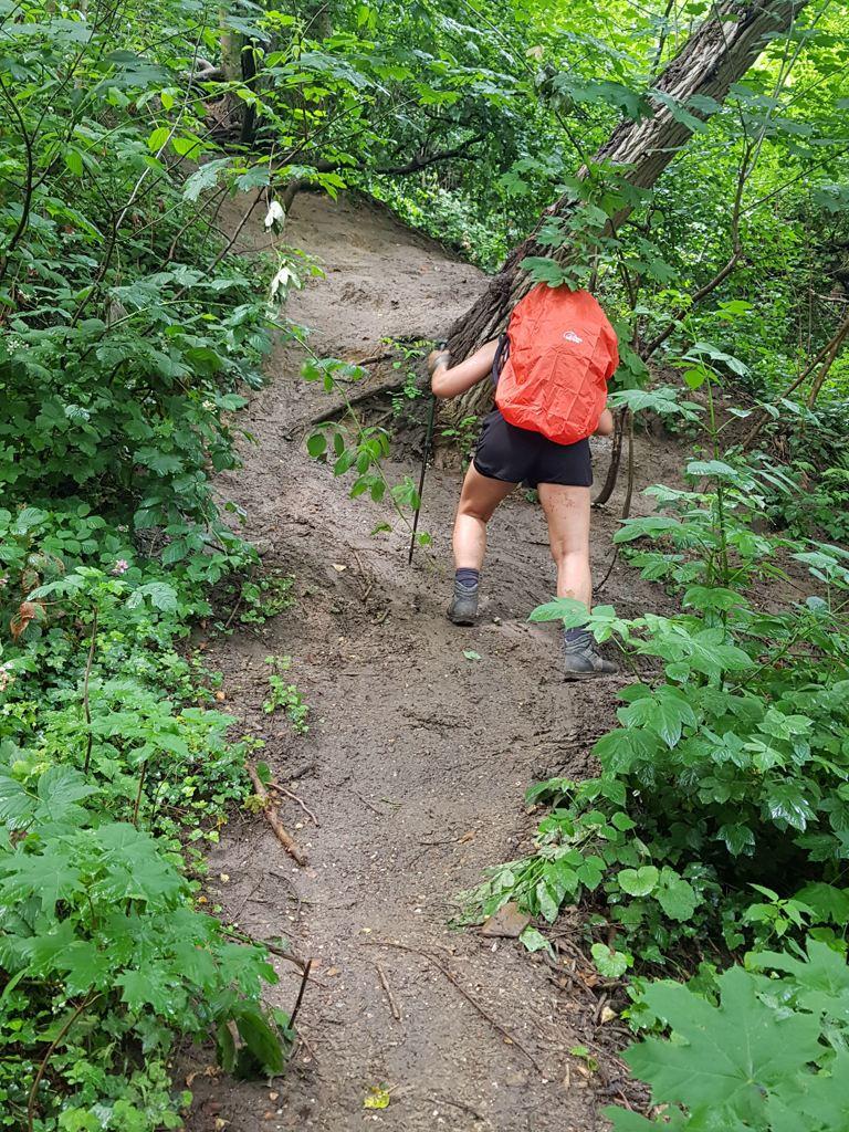Dutch Mountain Trail etappe 4 klimmen d'n Observant