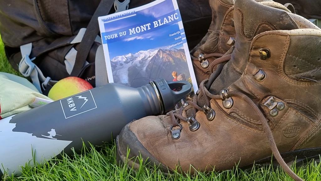 Tour du Mont Blanc routeboekje Noes Lautier