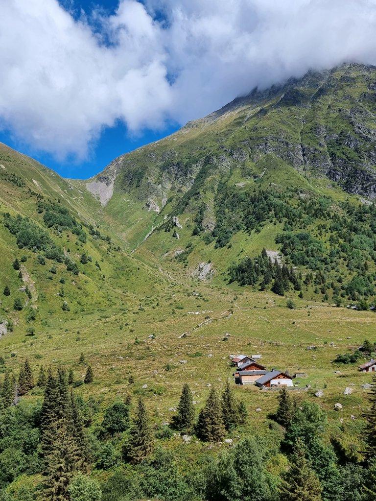 Col du Tricot Tour du Mont Blanc